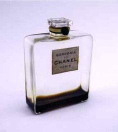 210: 1936 Chanel Gardenia Perfume Bottle : Lot 210