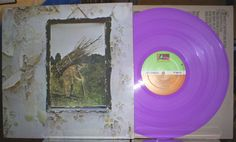 """Led Zeppelin IV on Lilac vinyl Contains many of the band's most famous songs, including """"Black Dog"""", """"Rock and Roll"""", """"Going to California"""" and the band's signature song, """"Stairway to Heaven."""""""