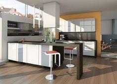 Get Inspired : 25 Modern Kitchen Designs By Ixina | HomeDSGN