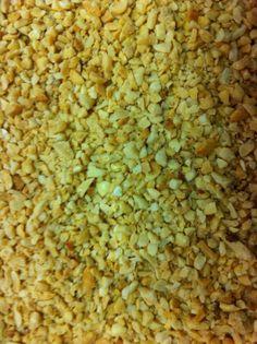 Cuca alemã de amendoim - montagem