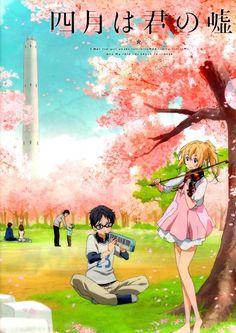 Shigatsu wa kimi no uso, Your Lie in April, Kousei, Kaori: