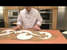Decorative bread sculpture with dead dough part 1 - YouTube