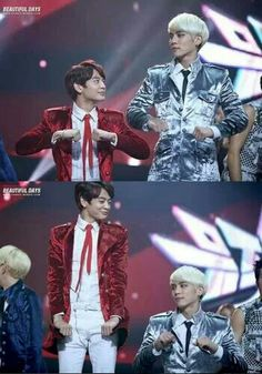 Minho & Jonghyun.. i have no idea why this is so funny... maybe because of the way Minho is looking at Jong XD