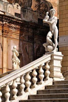 Palermo (Sicily) - Piazza Pretoria