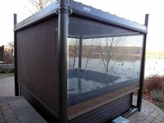 Hot Tub Privacy Enclosures | Calais Spas and Billiards loves the COVANA, and we know our customers ...