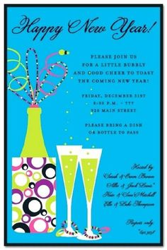 new year party invitation quotes holiday invitations party invitations personalized invitations new years