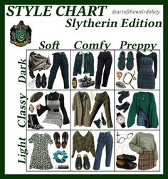 im classy preppy and also a slytherin Mode Harry Potter, Harry Potter Outfits, Harry Potter Style, Fandom Outfits, Aesthetic Fashion, Aesthetic Clothes, Milan Street Style, Style Blog, Style Me