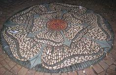 mosaics in landscape | Found on thejoyofshards.co.uk