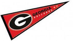 Georgia Bulldogs Decorations