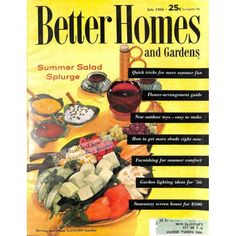 Cover Print of Better Homes and Gardens, July 1956 | $6.60