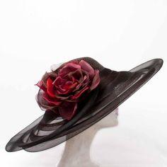 Portrait  brim crin hat / Vivienne