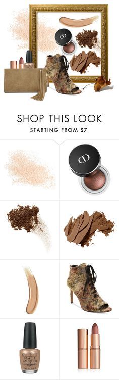 """""""its brown"""" by dijeng on Polyvore featuring beauty, Eve Lom, Bobbi Brown Cosmetics, Gucci, Nanette Lepore, OPI, Charlotte Tilbury and LULUS"""