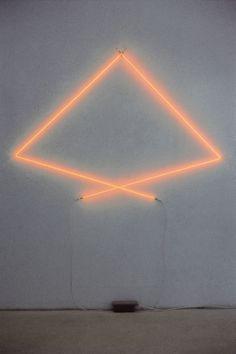 Francois Morellet, neon sign, Signal Ref. 94007