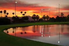 The Lights at Indio GC is the only night-lighted golf course in Greater Palm Springs.