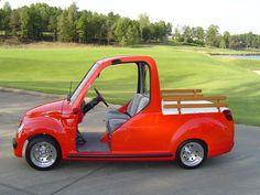 Golf Carts - Lido Golf Cart Truck | hoocherscoocher