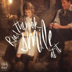 read the book smile at it