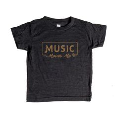 """Image of """"MUSIC MOVES ME"""" Short Sleeve"""