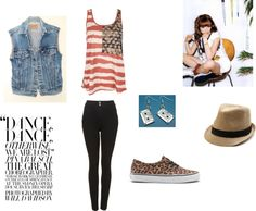 """Retro Teen"" by sandrsdutchess on Polyvore"