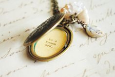 Corrie Ten Boom - Never be afraid to trust an unknown future to a known God - Women Locket - Faith Jewelry, Christian jewelry on Etsy, $32.00