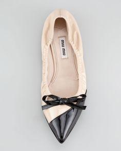 flat toe ballet flats - Google Search