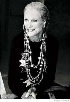 Nan Kempner by Ellen Graham..(love the necklaces!)