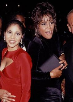 Toni Braxton and Whitney Houston