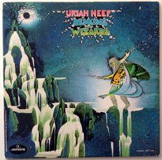Uriah Heep - Demons and Wizards LP Vinyl Record Album, Mercury - SRM-1-630,  Art Rock, Hard Rock, Prog Rock, 1972 Original Pressing