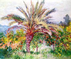 Claude Monet - Palm Tree at Bordighera, c.1884