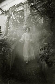 La serre by Isabelle Féebrile, via Behance #dreamwalker
