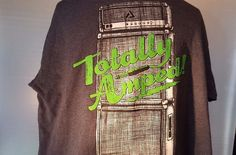 Men`s Totally Amped Audio Council  Tee Shirt size XL 2014 #AUDIOCOUNCIL #BasicTee