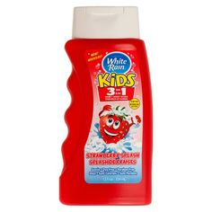 White Rain Kids 3-in-1 Hair and Body Wash - 12 oz. - Strawberry Splash  //Price: $ & FREE Shipping //     #hair #curles #style #haircare #shampoo #makeup #elixir