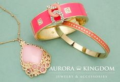 PINK LADIES: Adorably Pink Jewlery