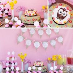 Baby Shower Ideas for girl with owl theme   Woodland Themed Baby Shower   Events Inspired by Love   Party and ...