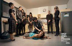 FNSF (Fédération Nationale Solidarité Femmes) / Association against domestic violence: The kitchen | Ads of the World™