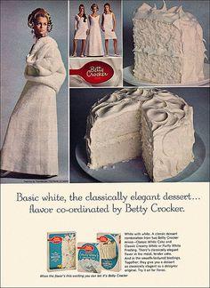 Betty Crocker Mix Ad, 1968