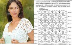 DE MIS MANOS TEJIDOS Y MAS...: Cinco lindos modelos a crochet/ 5 modelli con schemi: belli./