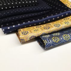 Exquisite pocket squares to adorn your suited look