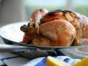 Roast Garlic Herb Chicken