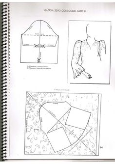Modélisation de bébé - Senai - - Fotoğraf Önerileri ve Yapımı - Sewing Sleeves, Sewing Pants, Sewing Doll Clothes, Sewing Dolls, Dress Sewing Patterns, Sewing Patterns Free, Sewing Tutorials, Clothing Patterns, Sewing Blouses