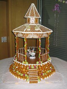 Unique Wedding Cake  www.thediamondconsignmentstore.com French Wedding Cakes, Unique Wedding Cakes, Unique Cakes, Zombie Wedding Cakes, Croquembouche, Wedding Cake Toppers, Communion, Wedding Reception, Wedding Ideas