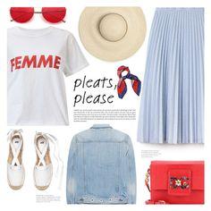 """Look Femenino"" by makeupgoddess ❤ liked on Polyvore featuring rag & bone, Lacoste, Miss Selfridge and Dolce&Gabbana"