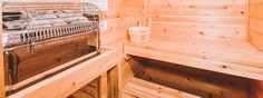 Unwind in this sauna tucked away in your Smoky mountain cabin.   Featured Cabin: Alone at Last . . . #smokymountains #smokies #greatsmokymountains #cabinsforYOU #GatlinburgCabin #pigeonforgecabin #cabin #pigeonforge #sauna #cabinsauna #spa #homebuilt #homesauna