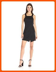 BCBGeneration Women's Square Neck Sheath Dress, Black Combo, 6 - All about women (*Amazon Partner-Link)