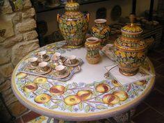 Ceramics of Caltigirone, Sicily