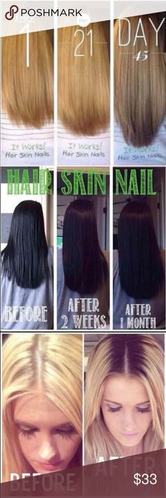 "Itworks hair skin nails models needed It works hair models needed! 90 day challenge to grow your hair and nails for fall at my price! comment ""long hair"" for details. I still have a few spots left!  **DONT BUY THIS LISTING** Other"