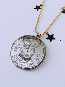 Image of Keeping Time Perpetual Calendar Necklace