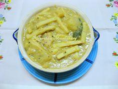Jackfruit seeds and bamboo shoot curry - Assamese Style