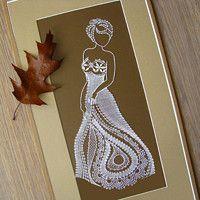 Zboží prodejce Miriam Dušková / Zboží | Fler.cz Romanian Lace, Bobbin Lacemaking, Lace Crowns, Lace Art, Parchment Cards, Bobbin Lace Patterns, Paper Lace, Needle Tatting, Point Lace
