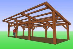 Timber Frame Wood Shed Faerie Camp Destiny Design Blog February