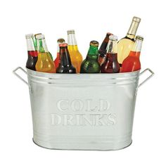 Galvanized Party Bucket | dotandbo.com
